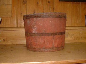 Old Sap Bucket from The Rowell Sugarhouse in Walden, VT