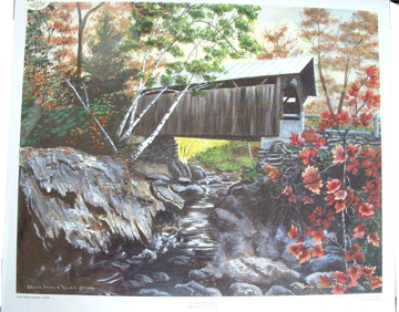 Artwork by Gloria Rowell at The Rowell Sugarhouse in Walden, VT